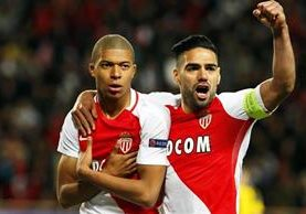 El AS Mónaco está en las semifinales de la Liga de Campeones. (Foto Prensa Libre: EFE)