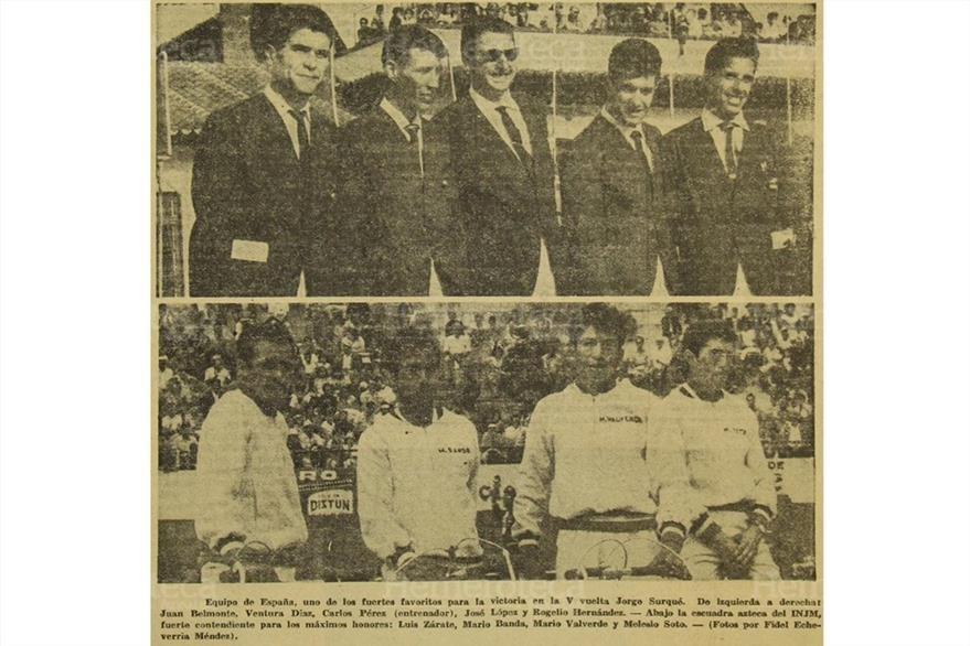 Dos de los equipos invitados en 1961. (Foto: Hemeroteca PL)