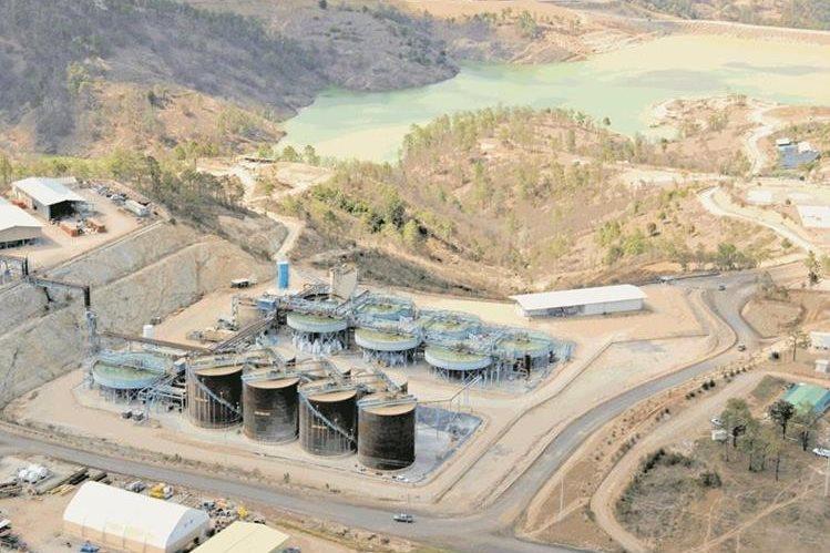 La mina opera en San Marcos desde 2005. Se dedica a la extraer oro y plata. (Foto Presa Libre: Hemeroteca PL)
