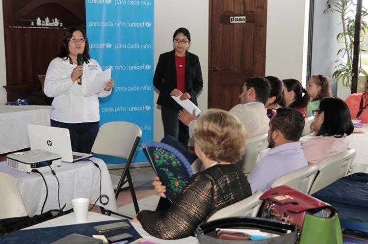 Los integrantes del GRR recibieron capacitación de la PGN.(Prensa Libre: Eduardo Sam)