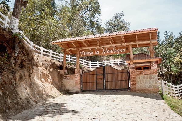 La mansión La Montagna, ubicada en Tecpán Guatemala, Chimaltenango, fue embargada por el Juzgado de Extinción de Domino.