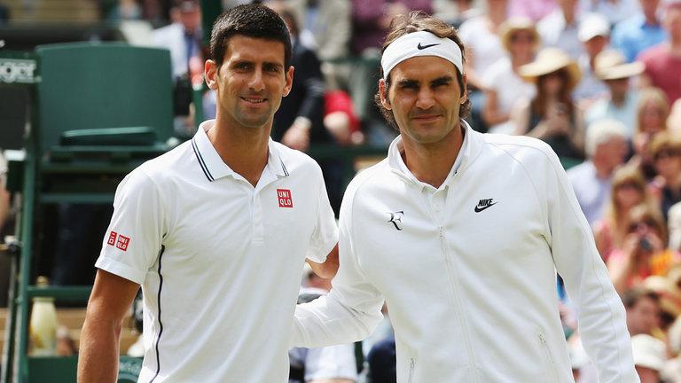 Novak Djokovic podría enfrentar a Roger Federer en las semifinales de Wimbledon. (Foto Prensa Libre: Hemeroteca)