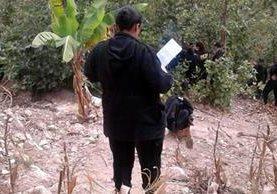 Área donde Hugo Ramírez Pérez disparó contra los agentes de la PNC en San Carlos Alzatate. (Foto Prensa Libre: Hugo Oliva).