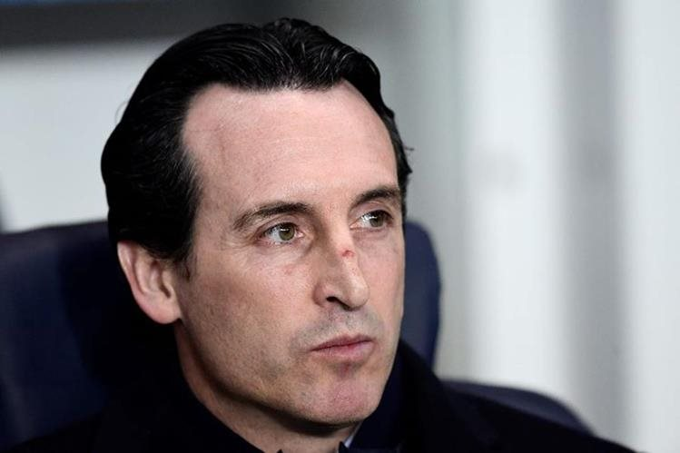 Unai Emery afirma que el ambiente en el PSG se mantiene afinado. (Foto Prensa Libre: AFP)