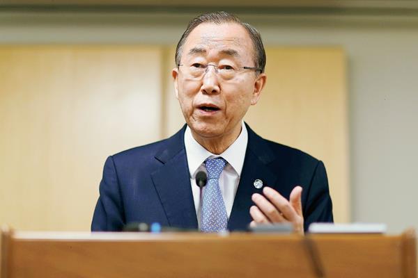 El secretario general de la ONU, Ban Ki-moon, dijo estar dispuesto a apoyar la continuidad de la Cicig. (Foto Prensa Libre: Hemeroteca).