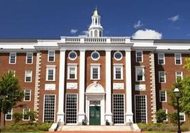 Universidad de Harvard ubicada en Cambridge, Massachusetts,EE.UU.