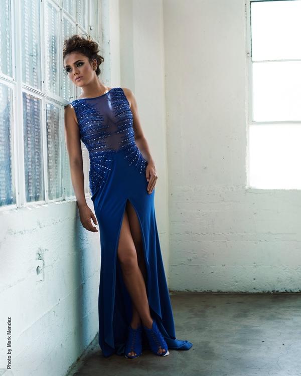 La belleza de Virginia Argueta quedó plasmada en esta sesión fotográfica. (Foto Prensa Libre: Mark Méndez)