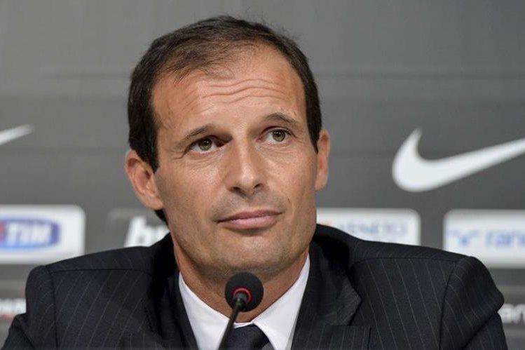 Massimiliano Allegri dijo que no es de los técnicos que se sientan a espera la llamada del Real Madrid. (Foto Prensa Libre: Hemeroteca)