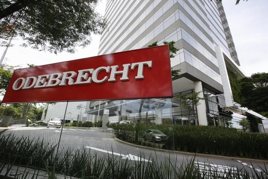 Sede de la constructora Odebrecht en Sao Paulo, Brasil.