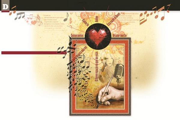 <p>Es indiscutible el valor poético que tienen algunas canciones. Ilustración Prensa Libre: Mynor Álvarez<br></p>