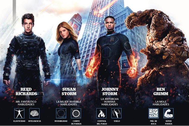 Cuatro jóvenes marginados se teletransportan a un universo alterno que alteró sus cuerpos físicos y los transformó.