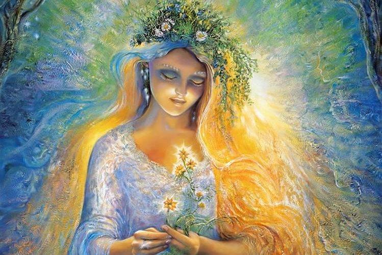 La energía femenina es conocida como el origen, la unidad, lo abarca todo y no tiene límites.