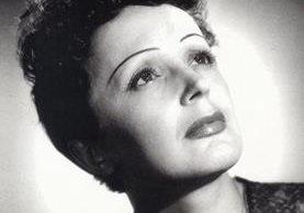 Edith Piaf es una de las figuras más emblemáticas de la música francesa. (Foto Prensa Libre. Hemeroteca PL)