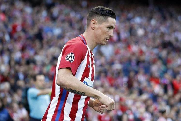 Fernando Torres renovó con el Atlético de Madrid, en que quiere jugar siempre. (Foto Prensa Libre: Hemeroteca PL)