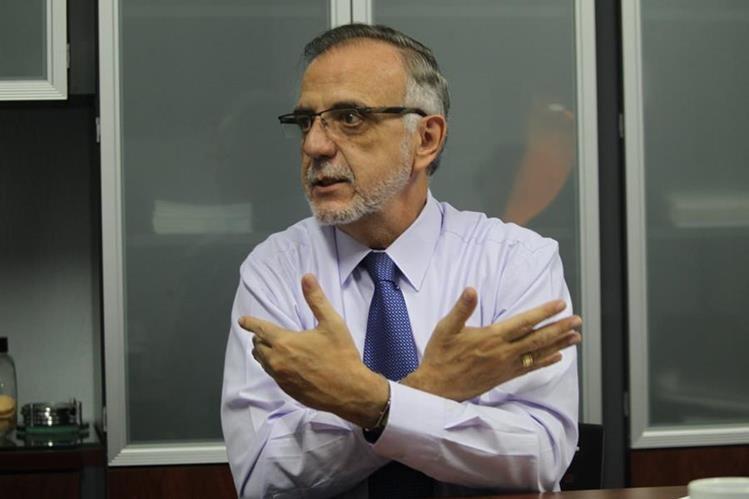 Iván Velásquez, jefe de la Cicig, en entrevista con Prensa Libre. (Foto Prensa Libre: Érick Ávila)