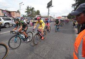 El Anillo Periférico fue sede del cierre de la Vuelta.