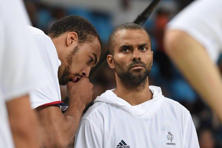 Parker quedó eliminado de los Juegos Olímpicos 2016 con Francia. (Foto Prensa Libre: AFP)