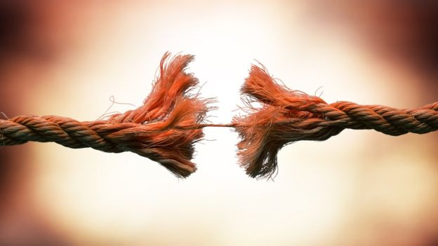 Si no se implementa una solución a tiempo, es fácil que la cuerda llegue a romperse. GETTY IMAGES