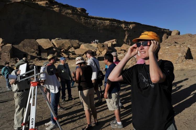 El próximo 21 de agosto ocurrirá un eclipse solar total, el cual se podrá ver íntegramente en Estados Unidos. (Foto Prensa Libre:static.t13.cl)