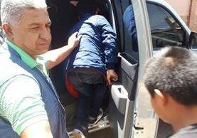 Seis menores quedaron al resguardo del Estado porque su padre y hermano deben enfrentar a la justicia. (Foto Prensa Libre: PNC)