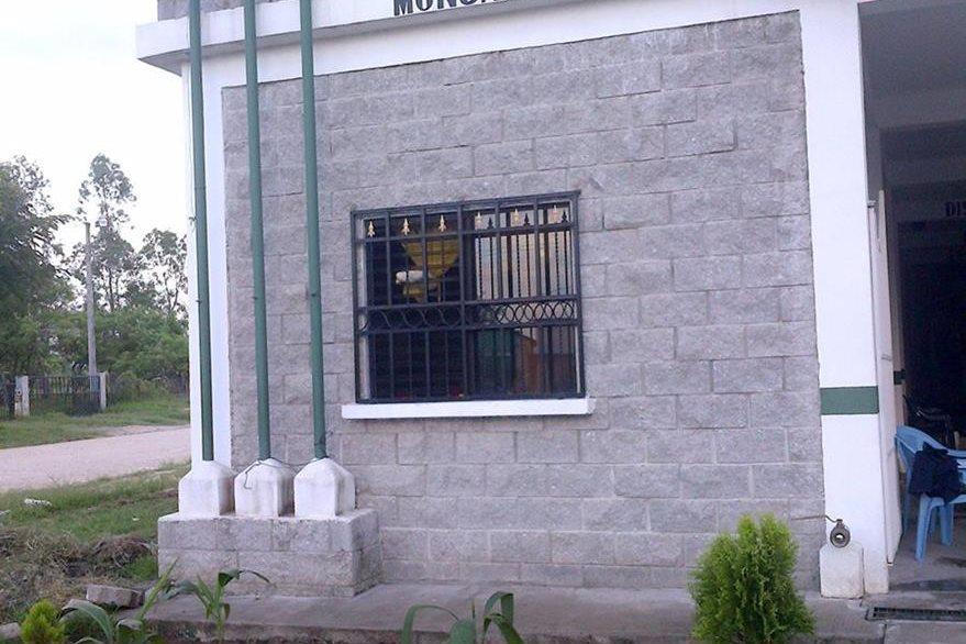 Estación bomberil de Monjas, Jalapa. (Foto: Facebook)