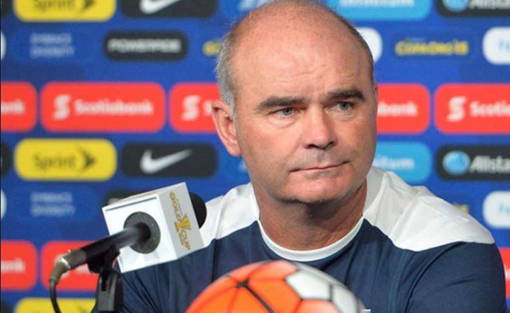 Iván Franco Sopegno fue el técnico de la Bicolor en la Copa Oro 2015. (Foto Prensa Libre)