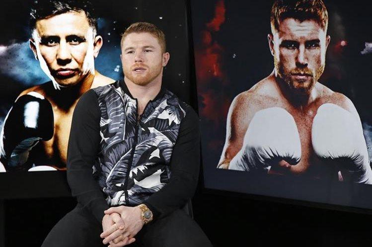 Saúl Álvarez peleará contra Gennady Golovkin el próximo 16 de septiembre, en Las Vegas. (Foto Prensa Libre: AP).
