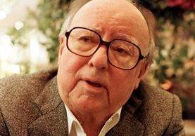 El escritor Augusto ganó el Premio Nacional de Literatura Miguel Ángel Asturias y el Príncipe de Asturias de las Letras. (Foto Prensa Libre: Hemeroteca PL)