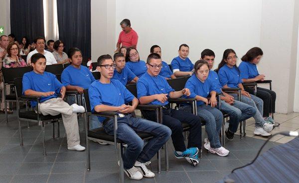 La delegación guatemalteca de atletas con capacidades especiales viajaron a Los Ángeles el 21 de julio (Foto Prensa Libre: Hemeroteca PL)