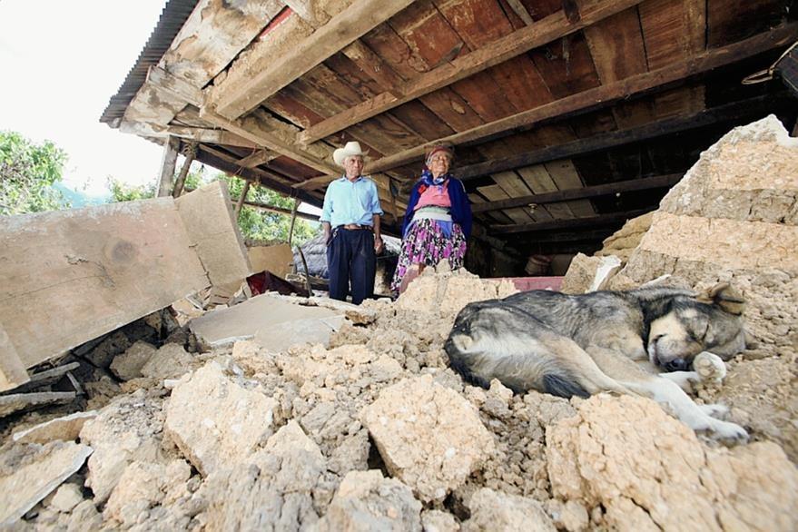 Sibinal fue el municipio de San Marcos con mayores daños. (Foto: Hemeroteca PL)
