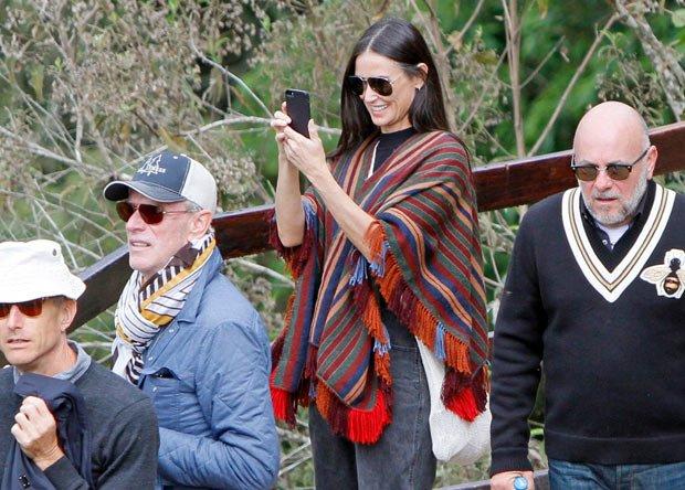 La actriz Demi Moore visitó Perú y aprovechó para conocer detalles de la cultura inca. (Foto Prensa Libre: Hemeroteca PL)