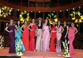 Las nueve participantes se habían presentado la semana pasada en el Teatro Municipal. (Foto Hemeroteca PL)