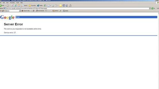 """""""¿Se cayó Google de verdad o fue mi proveedor de internet?"""", se preguntarían muchos. GETTY IMAGES"""