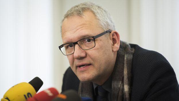 En diciembre de 2015, el profesor Wirsching defendió la publicación de su instituto de Mein Kampf. AFP