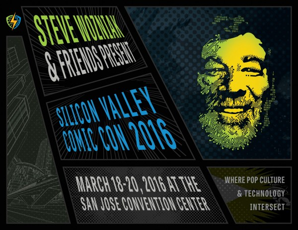 Afiche del Comic-Con que se llevará a cabo en San José, California, este mes (Foto: Hemeroteca PL).
