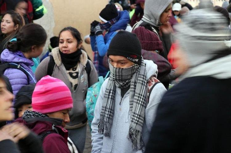 Llevar ropa adecuada fue una de las recomendaciones a los participantes. (Foto Prensa Libre: Renato Melgar)