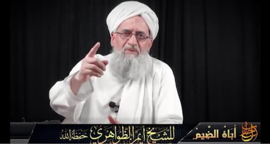 El jefe de Al Qaeda, Ayman Al Zawahiri, amenazó el viernes a Estados Unidos. (Foto/Twitter).