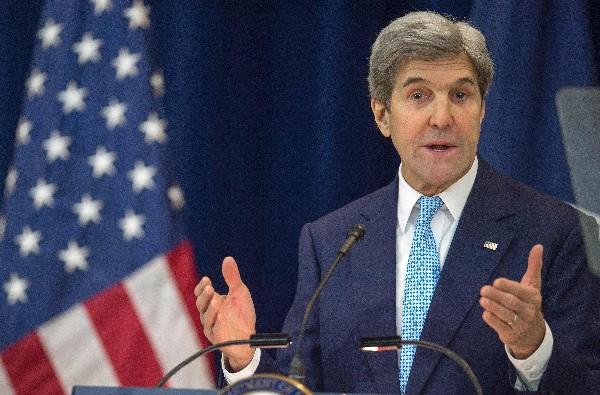 John Kerry defiende idea de dos Estados como única forma de lograr paz en Oriente Medio.(AP).