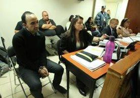 La Fiscalía solicitó al Juzgado de Femicidio que envíe a juicio oral a Rafael Morales Loarca. (Foto Prensa Libre: R. Méndez)