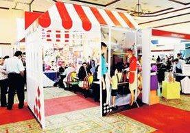 Foto de  archivo de la inauguración de  la tercera expo internacional de franquicias. (Foto Prensa Libre: Hemeroteca PL)