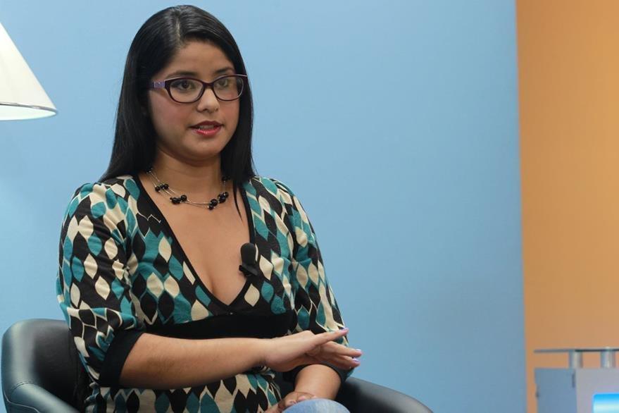 La médica veterinaria Claudia Hernández es una de las promotoras de  la Ley de Bienestar Animal.