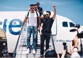 Luis Fonsi, Ricky Martin, Nicky Jam y Chayanne llegan a Puerto Rico para ayudar a los damnificados. (Foto prensa Libre: instagram.com/luisfonsi)
