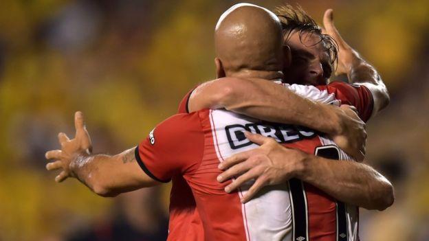 La victoria de Pacífico sobre Estudiantes fue una de las mayores sorpresas en la historia de la Copa Argentina. (Getty Images)
