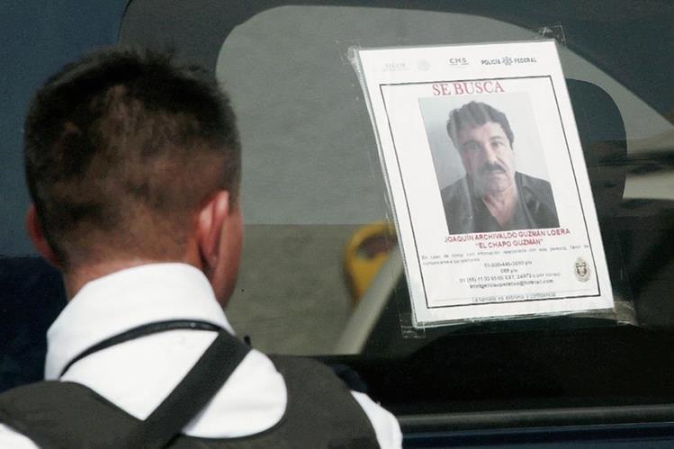 La fuga del Chapo ha causado al Gobierno de México una humillación internacional. (Foto Prensa Libre: AFP).