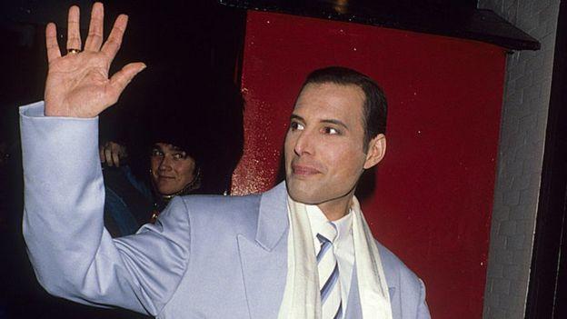 Mercury realizó su última grabación menos de un mes antes de morir. GETTY IMAGES