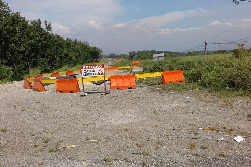 Tramos carreteros a cargo de Odebrecht no fueron concluidos.(Foto Prensa Libre: Hemeroteca PL)
