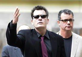El actor estadounidense Charlie Sheen revelará información personal durante un programa de televisión de la cadena NBC. (Foto Prensa Libre: EFE)
