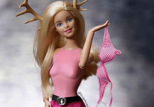 Las muñecas Barbie artísticas buscan alejarse de los estereotipios. (Foto, tomada de Instagram)