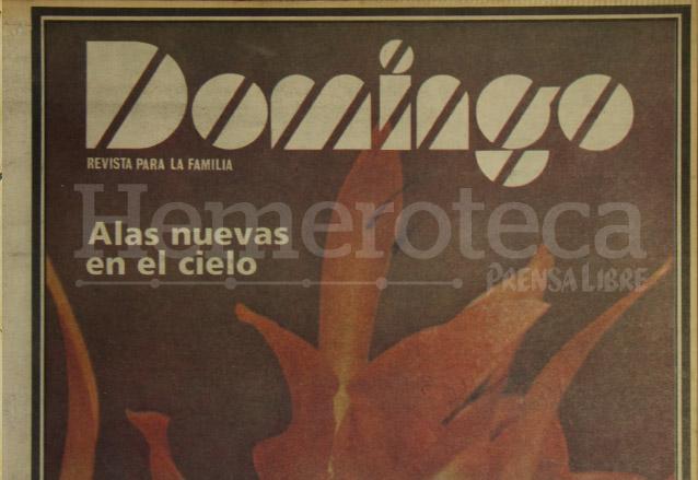 Detalle de la portada de la primera revista Domingo publicada el 10 de agosto de 1980. (Foto: Hemeroteca PL)