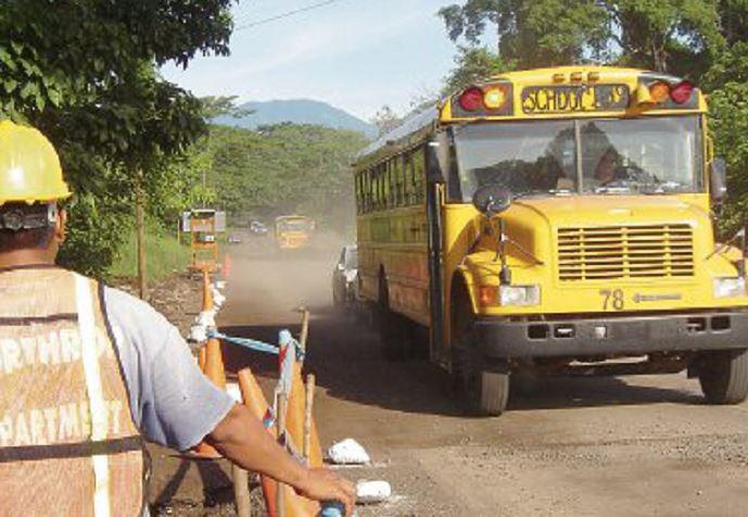 Empresa Sigma no construirá ampliación a cuatro carriles de la carretera de Escuintla a frontera Pedro de Alvarado. (Foto Prensa Libre: Hemeroteca PL)
